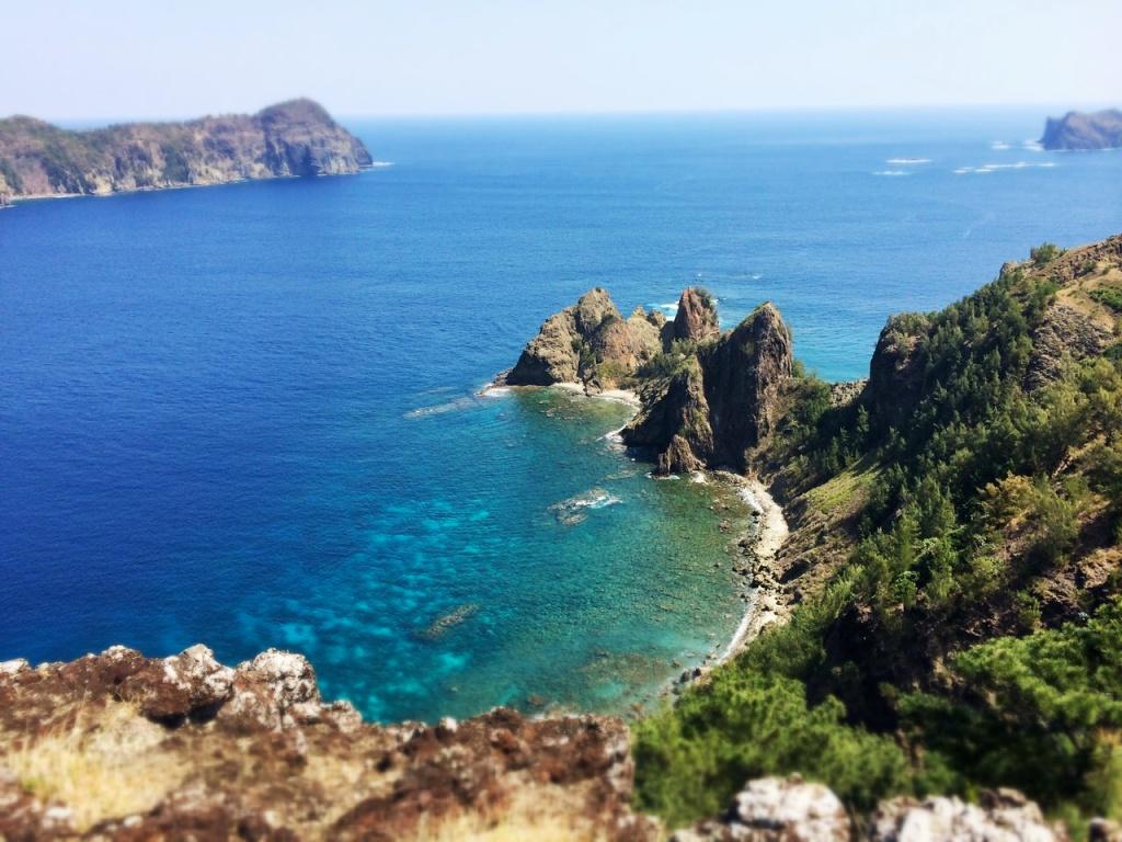 Ogasawara Islands shore