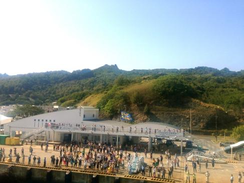 Ogasawara send-off