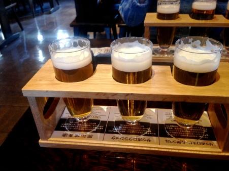 500 yen beer sample set