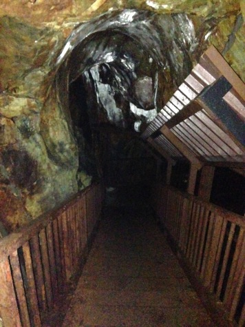 Inside the silver mine (pitch black(